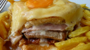 Inside the Francesinha