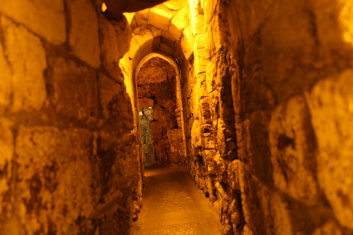 The Kotel tunnel