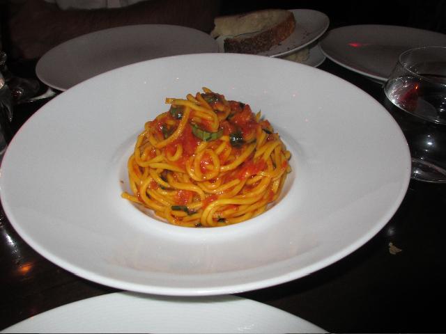 Spaghetti at Scarpetta