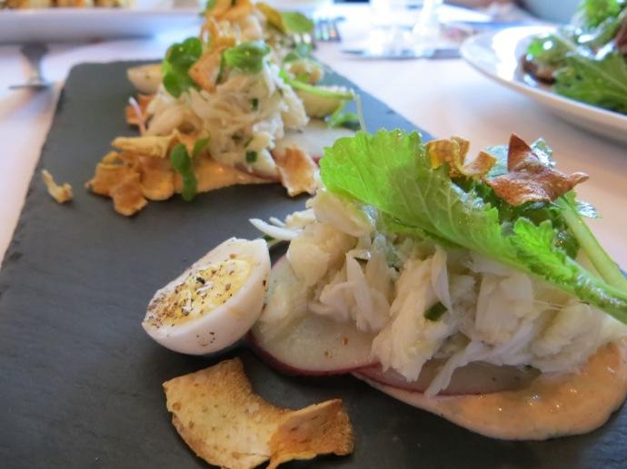 Coquette's Crab Salad
