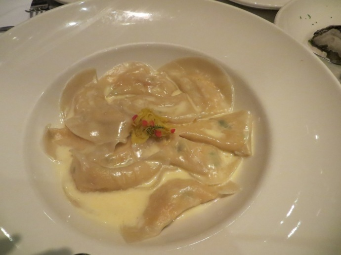 GW Fins Lobster Dumplings