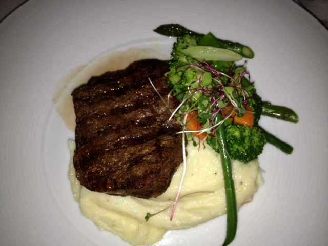 Filet with mash (for daughter)