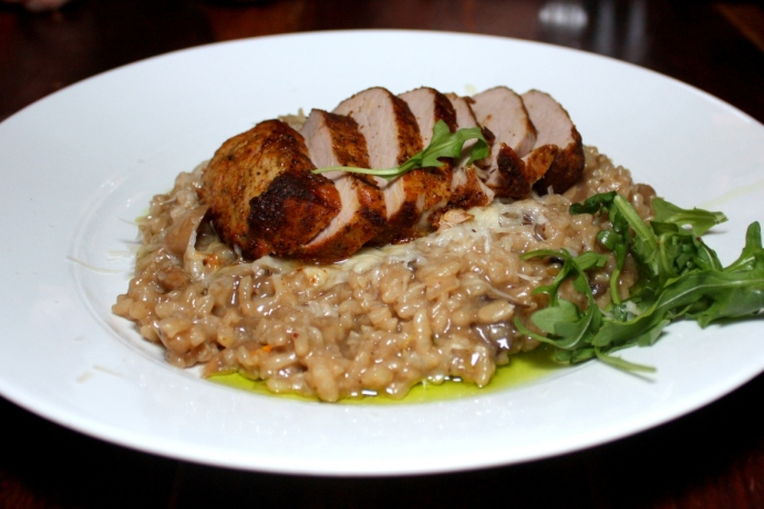 Lemon - Risotto  with Pork