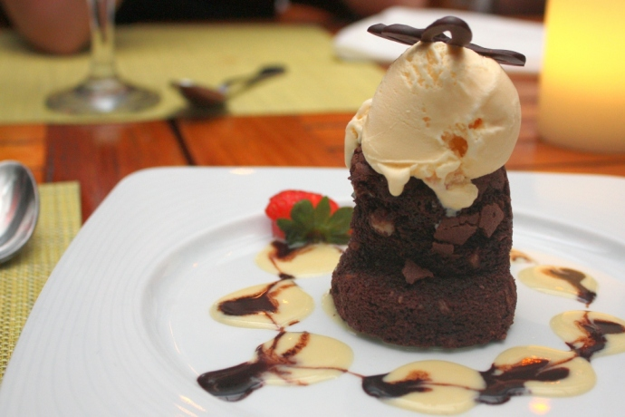 Caicos Cafe - Chocolate Hazelnut cake