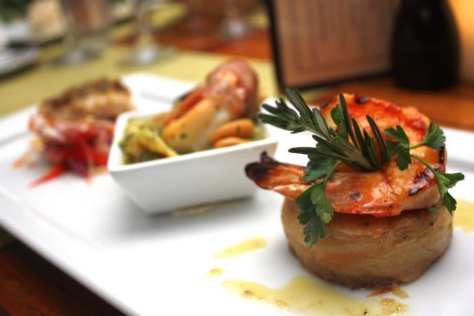 Caicos Cafe - Shrimp speicial