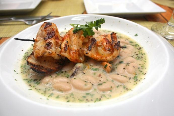 Caicos Cafe - Grilled Calamari