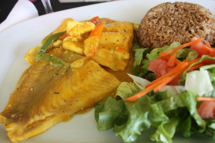 Curry Grouper