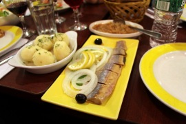 Herring with potatoes