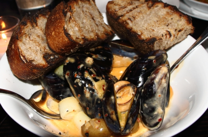Le Philosophe - Mussels