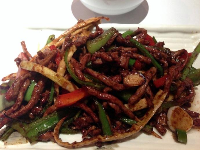 Gourmet Szechuan 56 - Shredded beef