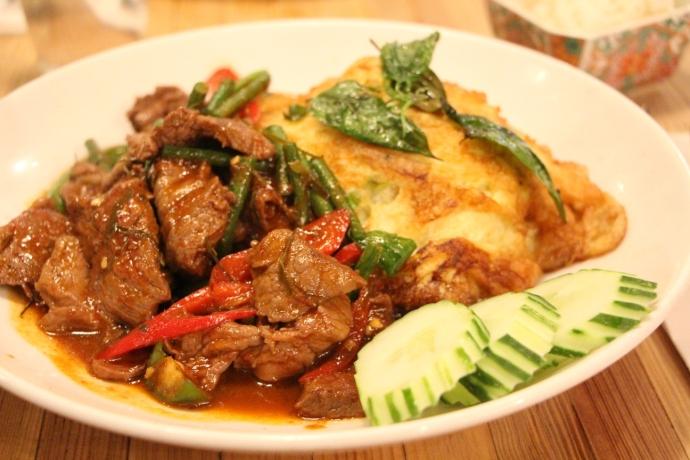 Pure Thai - Beef Pad Prik Khing