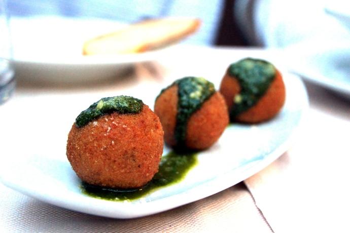 Cesare al Casaletto - meatballs