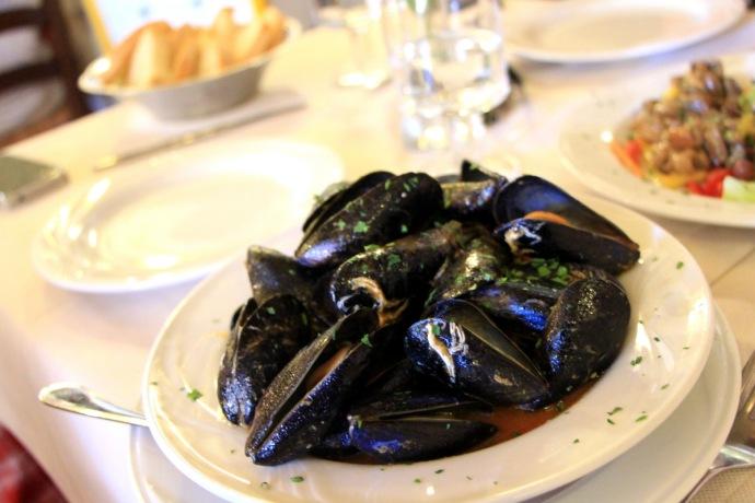 La Tellina  -Mussels