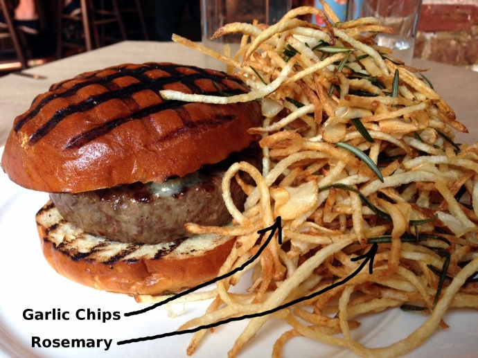 Spotted Pig Burger