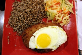 Schnitzel with Egg
