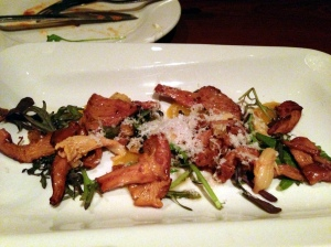 Ssam bar - Roasted Chanterelles
