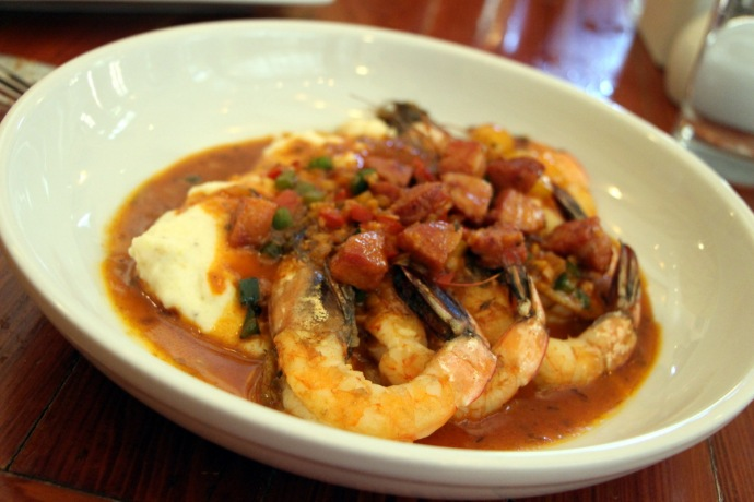 Atchafalaya Shrimp and Grits