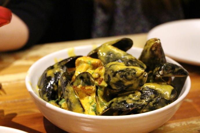 Peche Mussels