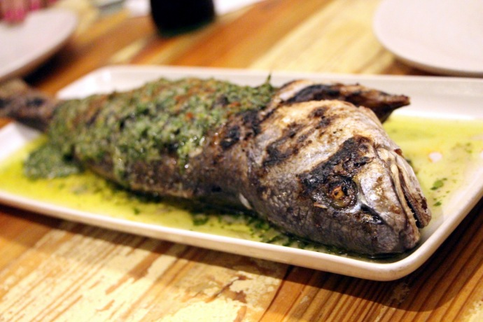Peche Whole Grilled Redfish