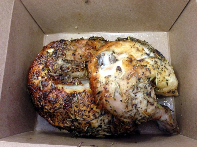 Rotisserie Chicken at Poulette