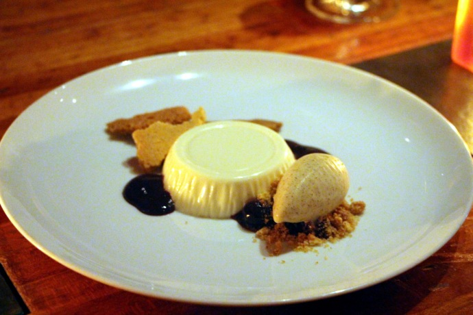 Hearth Panna Cotta