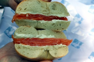 Russ and Daughters Sandwich