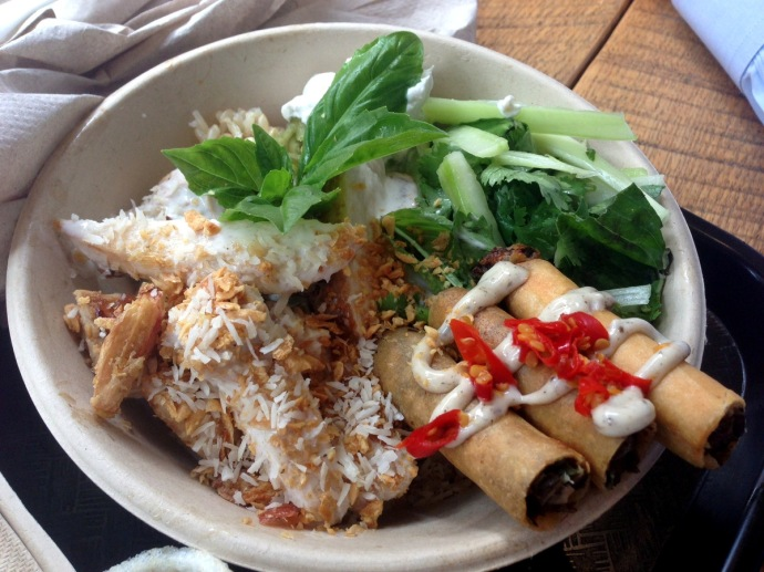 Lumpia Shack Rice Bowl
