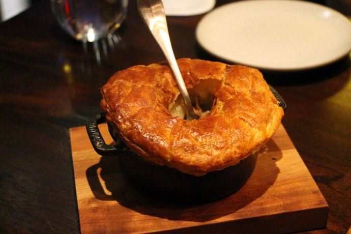 NoMad Bar Chicken Pot Pie