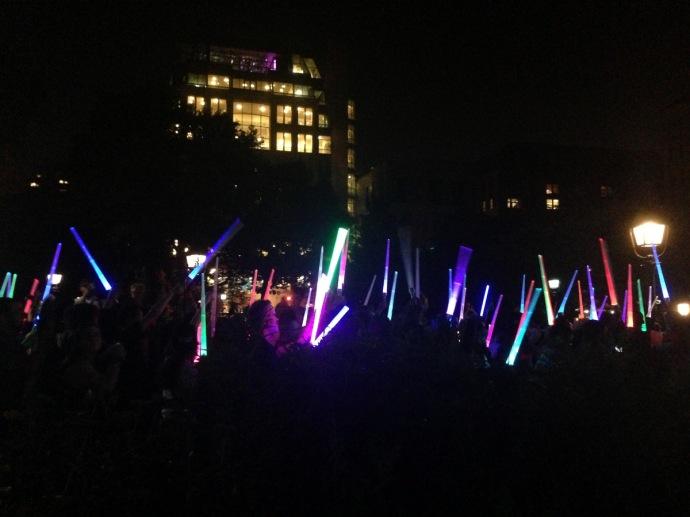 Washington Square Park Star Wars