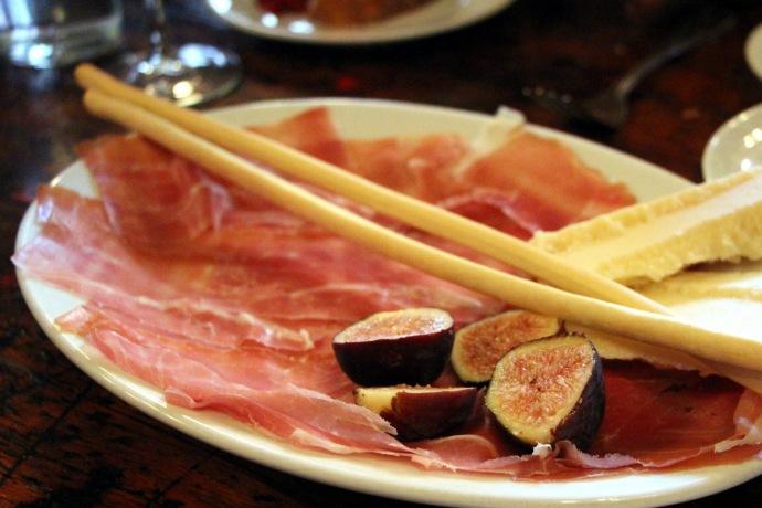 Crispo Prosciutto, Figs & Parmigiano