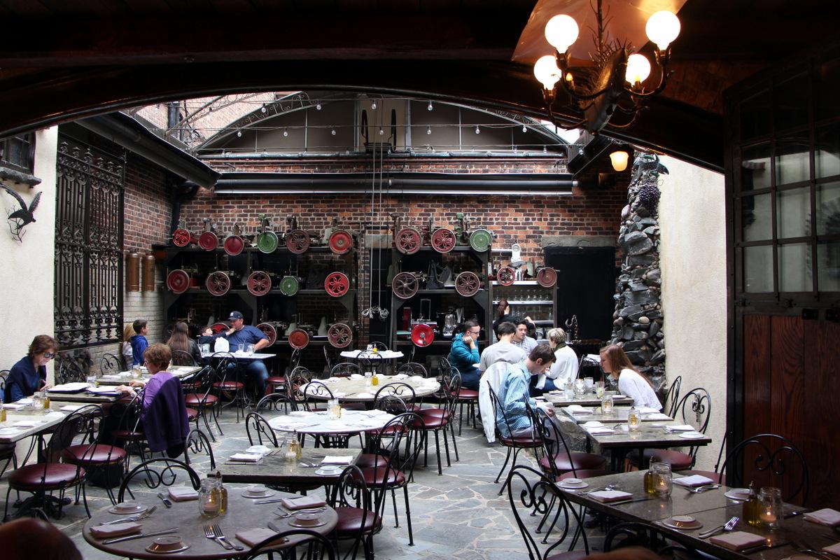Italian West Village Eating With Ziggy