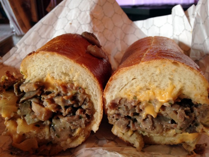 Philly Cheesesteak at Shorty's