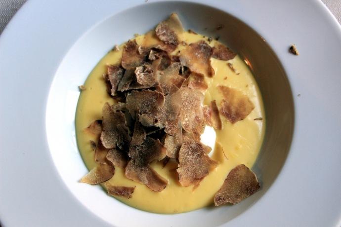 Trattoria La Coccinella Egg cheese fondue