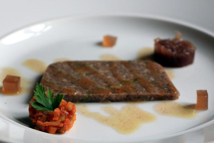 Trattoria La Coccinella veal terrine