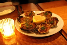 Bowery Meat Company Chargrilled Oysters