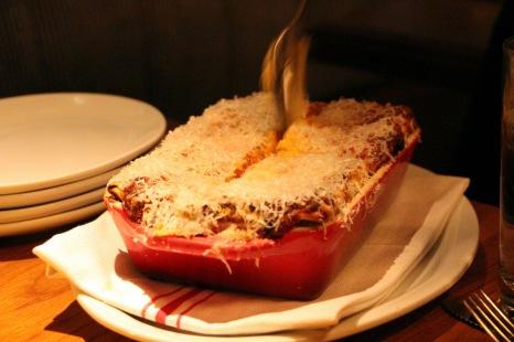 Bowery Meat Company Lasagna