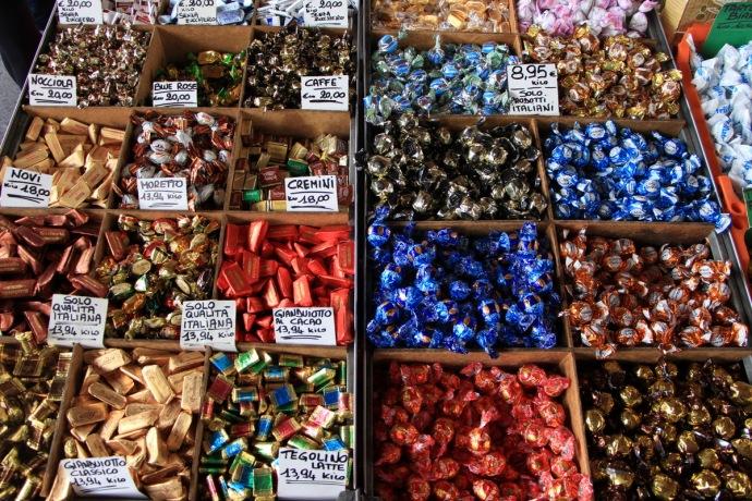 Alba market chocolate