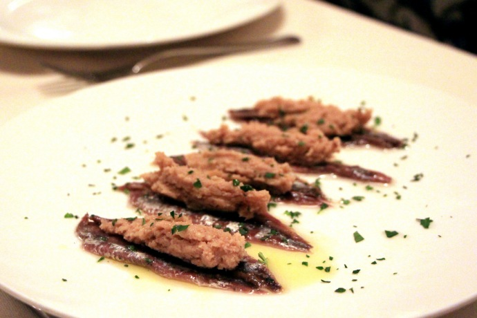 Ca del Re - Anchovies and Tuna