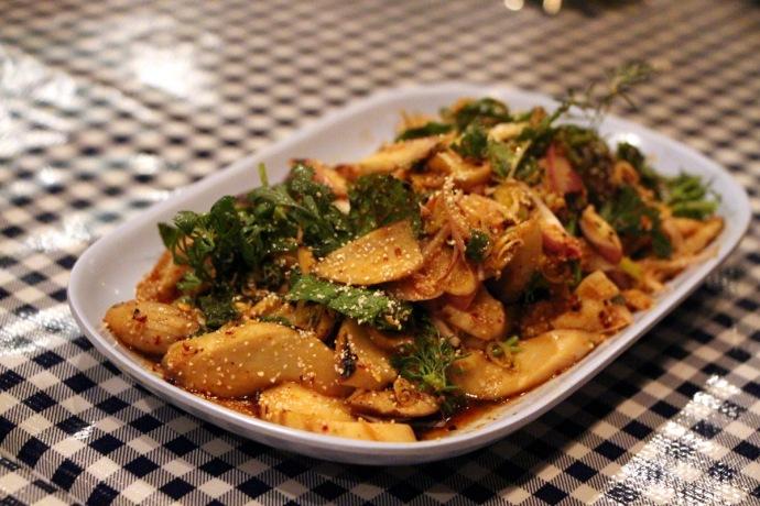 Pok Pok Mushroom Salad