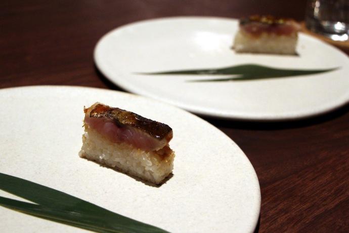 Momofuku Ko mackerel