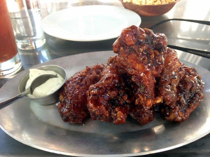 Distilled wings