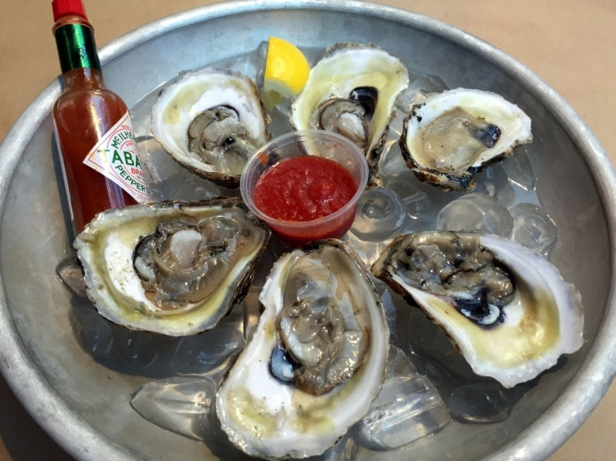 Red & Gold Boil Oysters