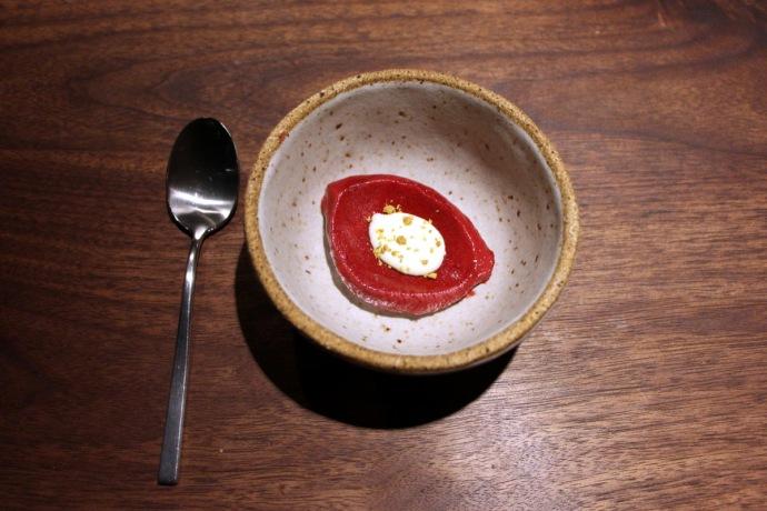 Momofuku Ko huckeberry