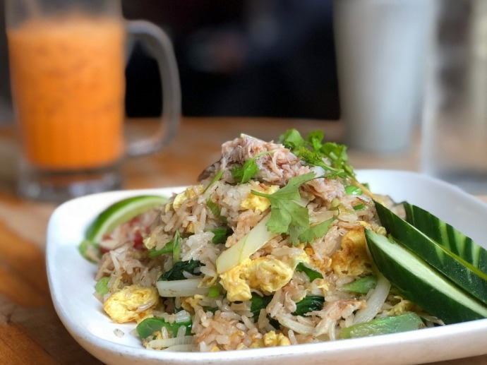 Pure Thai Cookhouse - Fried Rice with Crab