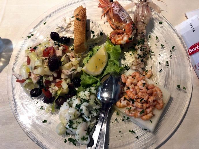 Trattoria alla Maddalena - mixed seafood