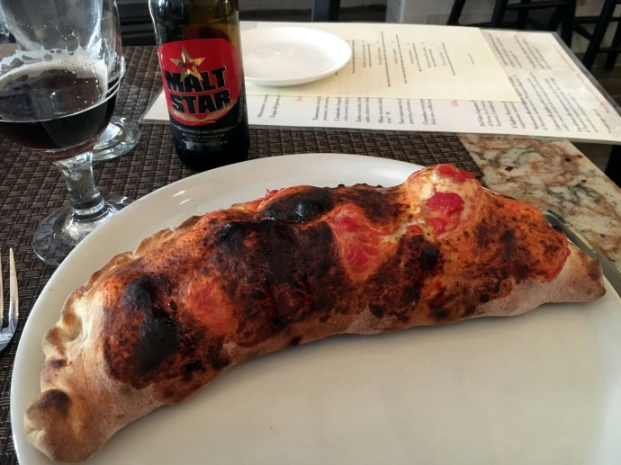 Calzone at Tramonti