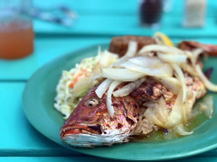 Conch Shack Snapper