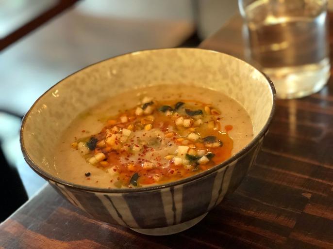 Miss Ada Sunchoke soup