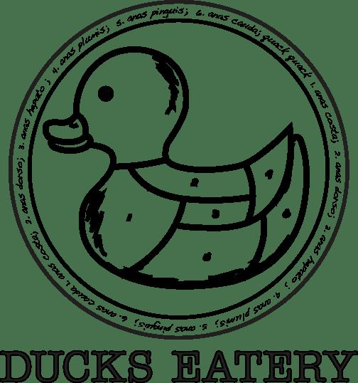 Ducks Eatery logo