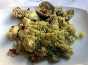 Guernica Rice with Seafood